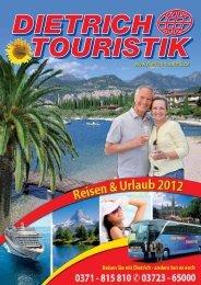 Ein ideales Geschenk - Dietrich Touristik Busreisen