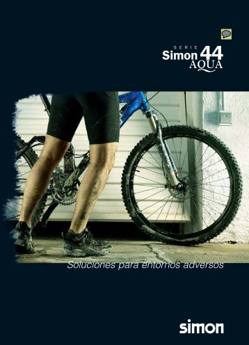 Serie mecanismos Simon 44 Aqua, catálogo ... - Venespa