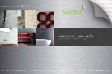 Catálogo novedades Mapisa, ceramicas, azulejos ... - Venespa