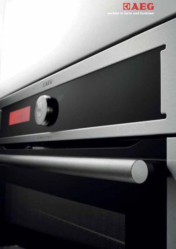 Hornos cocina, AEG Electrolux catalogo pdf. - Venespa