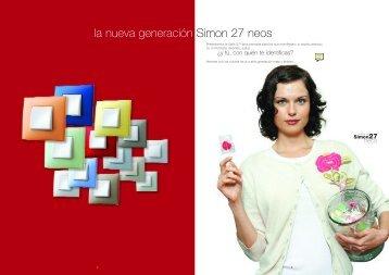 Serie Simon 27 Neos, catálogo mecanismos enchufes ... - Venespa