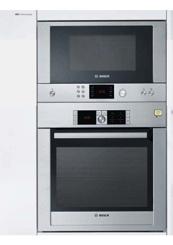 Catálogo Bosch microondas, telf. (0034) 963 490 288 - Venespa