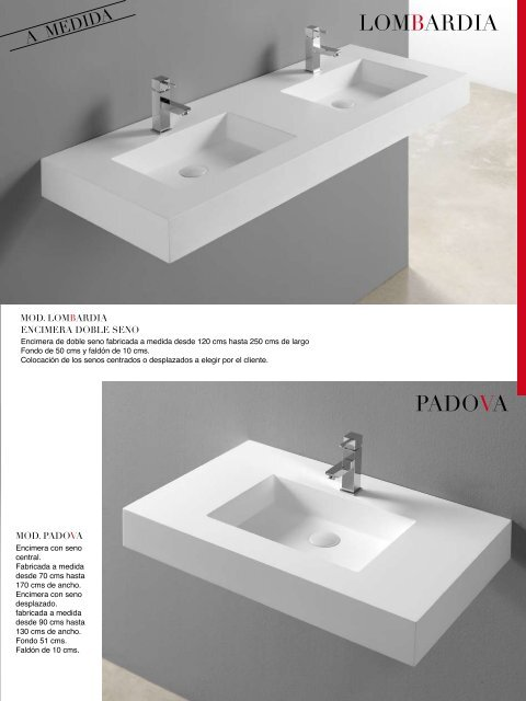 Colocacion Lavabo.Solid Surface By Anyway S