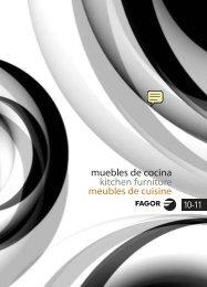 Catálogo muebles cocinas Fagor - Venespa