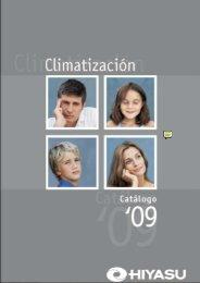 Catálogo climatización, aire acondicionado - Venespa