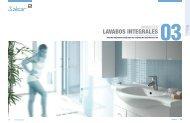Muebles lavabos integrales Salgar - Venespa