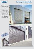Puertas y persianas enrollables de aluminio o acero ... - Venespa - Page 2