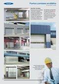 Puertas y persianas enrollables de aluminio o acero ... - Venespa - Page 3