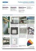 Puertas y persianas enrollables de aluminio o acero ... - Venespa - Page 5