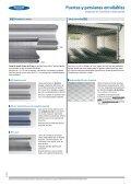 Puertas y persianas enrollables de aluminio o acero ... - Venespa - Page 7