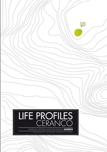 Cerámica serie Life Profiles, Ceranco, Porcelanosa ... - Venespa