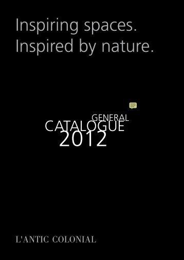 Catálogo Antic Colonial: Piedra natural, ceramica ... - Venespa