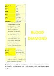 BLOOD DIAMOND - Cineplex