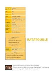 RATATOUILLE - Cineplex
