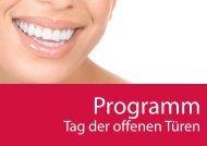Tag der offenen Türen - Swiss Dental Hygienists