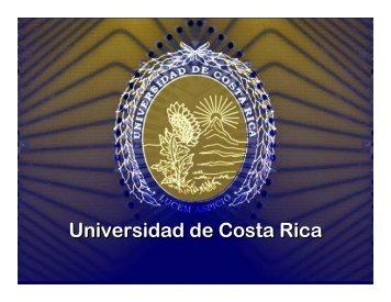 Universidad de Costa Rica - DISASTER info DESASTRES
