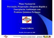 Plano Nacional de Prevenção, Preparação e Resposta Rápida a ...
