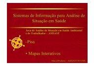 Sistemas de Informação para Análise de Situação em Saúde ...
