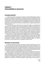 Capítulo 3 Vulnerabilidad no estructural - CIDBIMENA