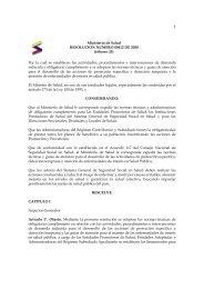 Resolución 412 de Febrero 25 de 2000 - DISASTER info DESASTRES
