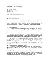Inundaciones en Guayana, Reporte SUMA. - DISASTER info ...