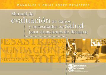 manuales y guías sobre desastres - Centro de Conocimiento en ...