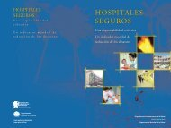Hospitales seguros - Health Library for Disasters