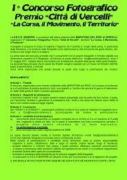 regolamento CONCORSO FOTO - circolo fotografico marianese