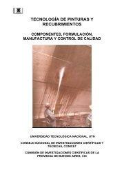 tecnología de pinturas y recubrimientos - edUTecNe - Universidad ...