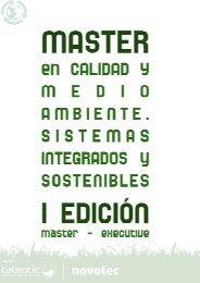 1. master en calidad y medioambiente. sistemas ... - Emagister