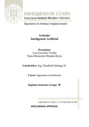 Artículo: Inteligencia Artificial - Emagister