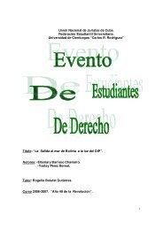 1 Unión Nacional de Juristas de Cuba. Federación ... - Emagister
