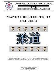 MANUAL DE REFERENCIA DEL JUDO - Emagister