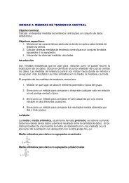 UNIDAD 4: MEDIDAS DE TENDENCIA CENTRAL - Emagister