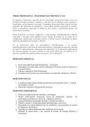 PERFIL PROFESIONAL : INGENIERO ELECTRONICO ... - Emagister
