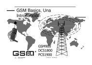 GSM Basics, Una Introducción - Emagister
