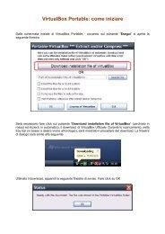 VirtualBox Portable: come iniziare - Majorana