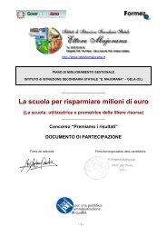La scuola per risparmiare milioni di euro - Majorana