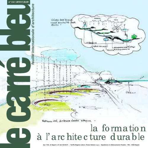 la formation à l'architecture durable - Le Carré Bleu