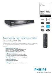 DVP3980/12 Philips DVD player - Mixi, foto in video