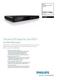 DVP3380/12 Philips DVD player with HDMI and ... - Mixi, foto in video