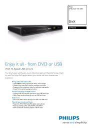 DVP3350/12 Philips DVD player with USB - Mixi, foto in video