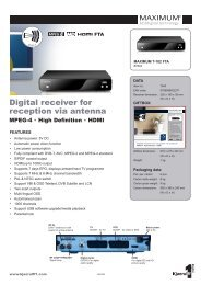 Digital receiver for reception via antenna - Mixi, foto in video