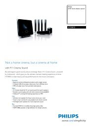 HTS9810/12 Philips DVD home theater system - Mixi, foto in video