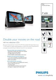 PET7432/12 Philips Portable DVD Player - Mixi, foto in video