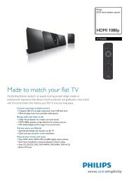 HTS4600/12 Philips DVD home theater system - Mixi Foto Video