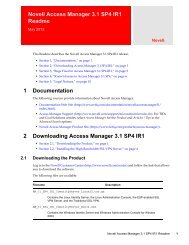 iManager 2 7 6 Readme - NetIQ