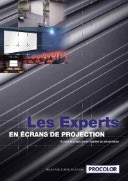 EN ÉCRANS DE PROJECTION - Procolor
