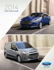 2014 Ford Fleet Guide Click here to view English ... - Fleet Business