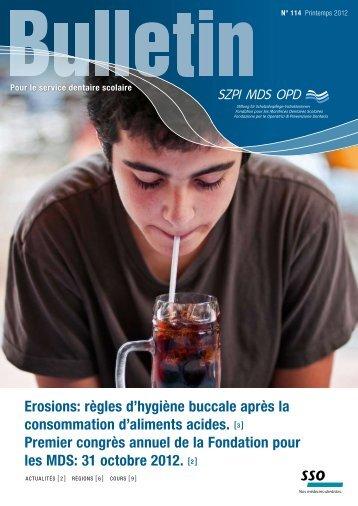 règles d'hygiène buccale après la consommation d'aliments acides.